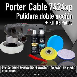 autofinish kit pulidora porter cable + kit de pulido 1-01