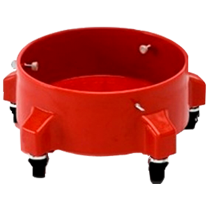 autofinish Bucket Dolly rojo