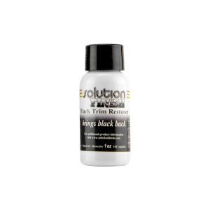 autofinish Solution finish brigs black back 1oz