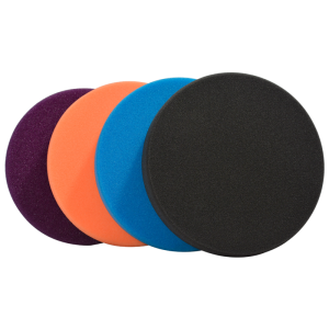 autofinish kit teknopads 6p negro azul naranja y negro.