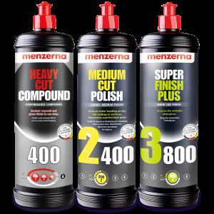 autofinish kit menzerna 400 2400 y 3800 1L