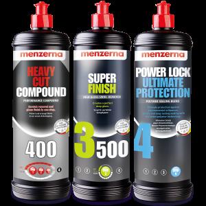 autofinish kit menzerna 400 3500 y power lock 1L